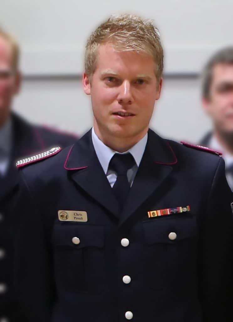 Chris Preuß. Foto: Mennecke