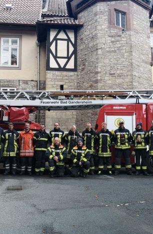 Workshop zur Einsatztaktik Drehleiter der Feuerwehr Bad Gandersheim