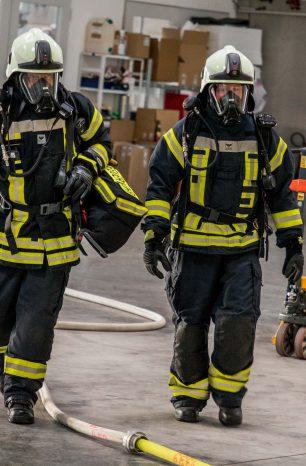 Feuerwehr Nörten im Einsatz gegen die BMA-Routine
