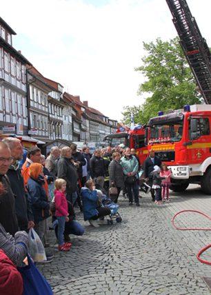 Feuerwehr Northeim zu Gast auf der NOM MOT