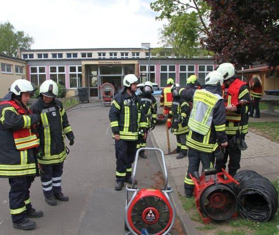 Küchenbrand in Erich-Kästner-Schule in Northeim