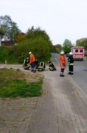 Küchenbrand in Sievershausen verlief glimpflich