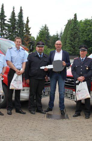 Vier Busse für die Feuerwehren der Stadt Northeim