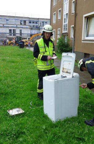 Defekte Waschmaschine löst Brandeinsatz in Einbeck aus