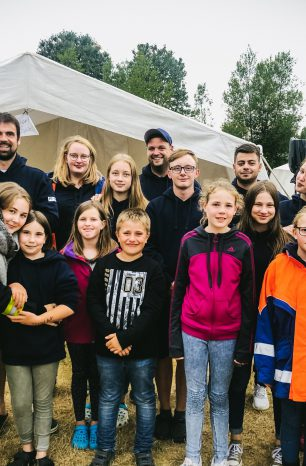 Das Zeltlager der Kreisjugendfeuerwehr Northeim im Liveblog