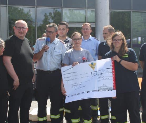 Schnullerbaum, Spenden und mehr: Voller Einsatz der Feuerwehren aus der Stadt Bad Gandersheim