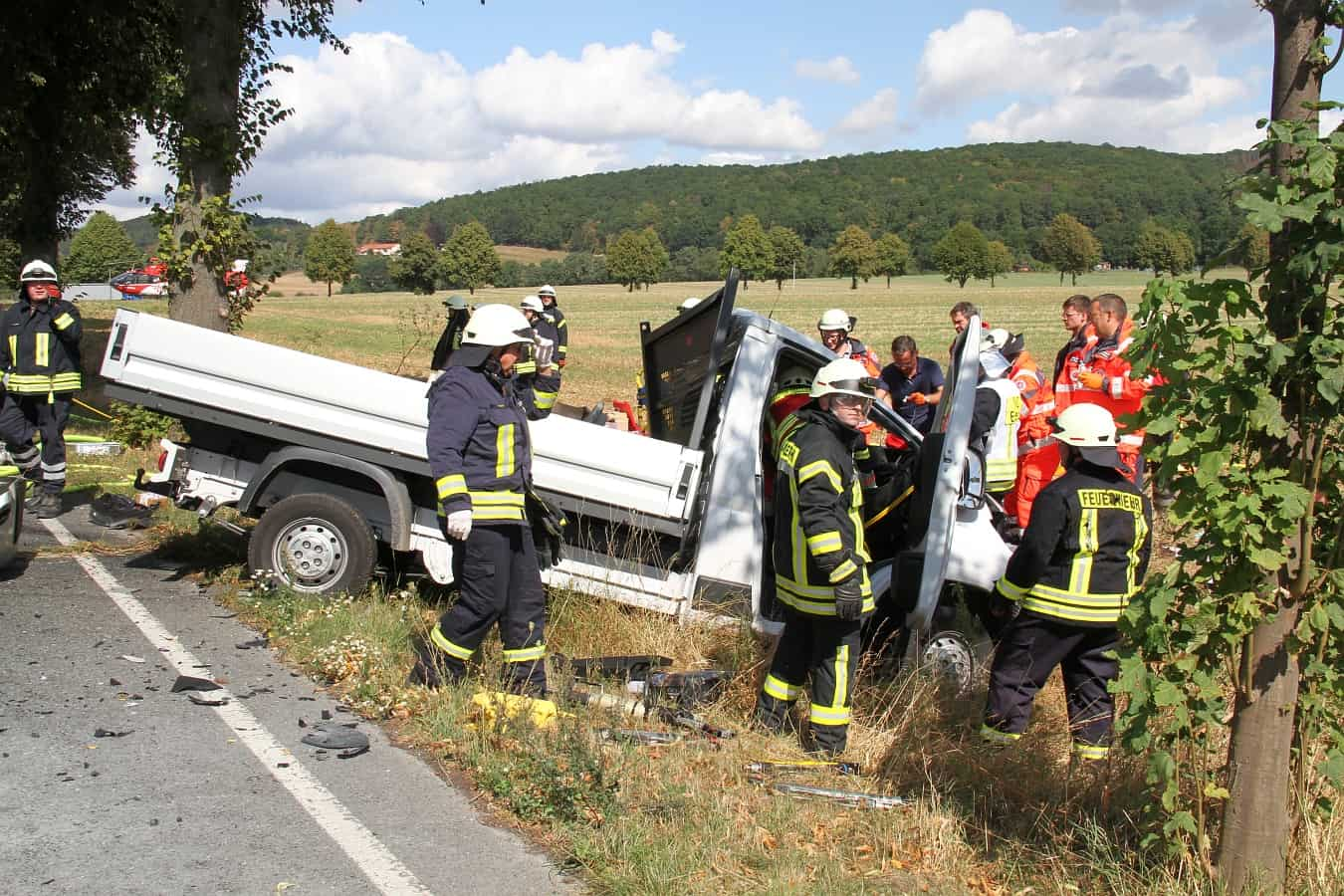 Unfall B3 Einbeck
