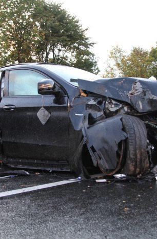 A7: Auto hat sich mehrfach überschlagen