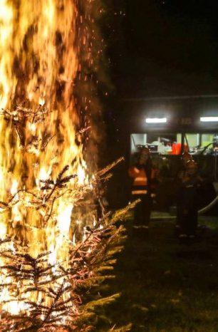 Tipps der Feuerwehr: So geht es sicher durch die Weihnachtszeit