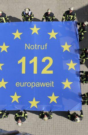 Trotz Brexit: Der Notruf 112 bleibt auch Urlaubern erhalten