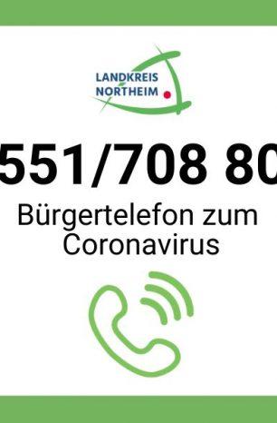 Coronavirus: Landkreis Northeim schaltet Bürgertelefon