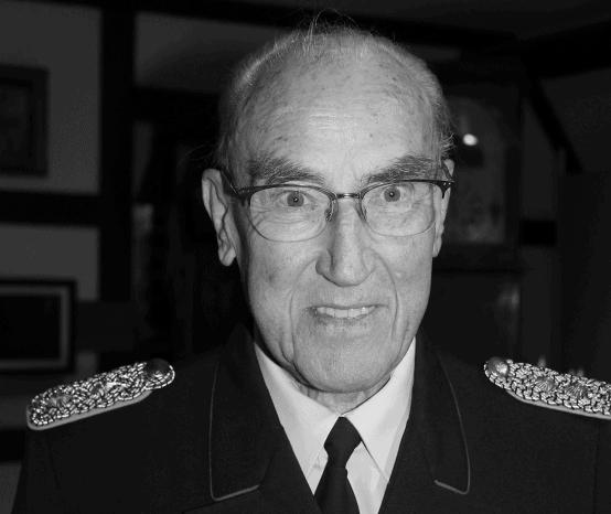 Er starb mit 80 Jahren: Nachruf für Regierungsbrandmeister a.D. Otmar Niemann