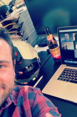 In Corona-Zeiten: Videokonferenz-Unterstützung der Kreisjugendfeuerwehr Northeim