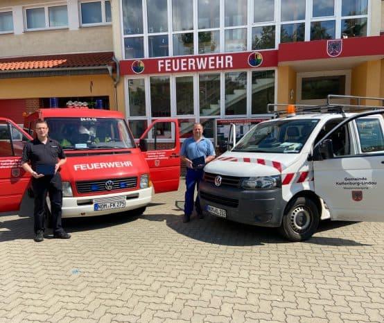 Mobiles Infrastruktur-Kataster: Digitaler Helfer für Feuerwehren in Katlenburg-Lindau