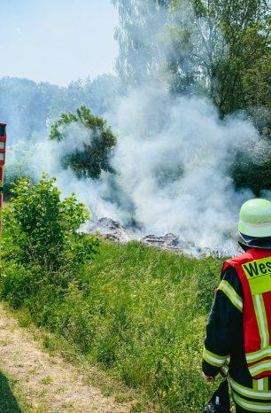 Vollalarm: Waldbrand in Willershausen gemeldet