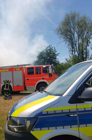 Freiflächenbrand bei Einbeck