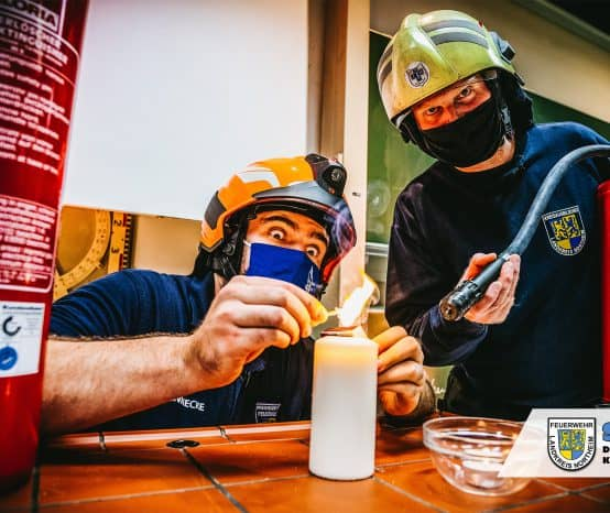 Brennen und Löschen: Hier gibt's den ersten Live-Onlinedienst der Kreisjugendfeuerwehr Northeim