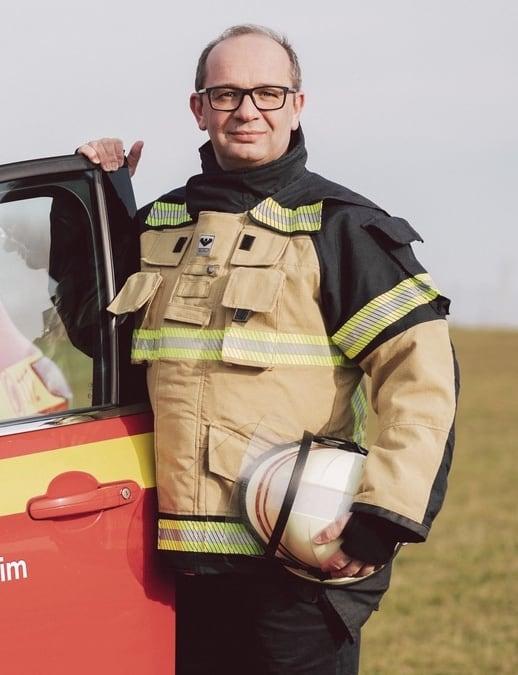 Kreisbrandmeister Marko de Klein. Foto: Florian Spieker