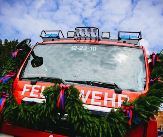 Neues TLF 3000 für die Feuerwehr Kalefeld