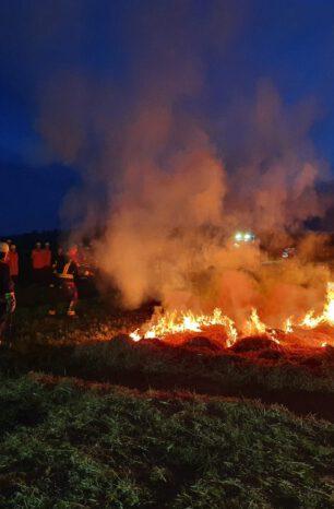 Waldbrand-Modul der Kreisfeuerwehr im praktischen Einsatz