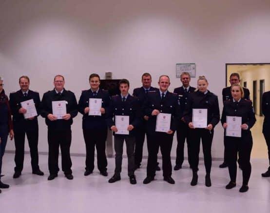 72 Einsätze und ein Großbrand – Jahreshauptversammlung 2021 der Feuerwehr Dassel